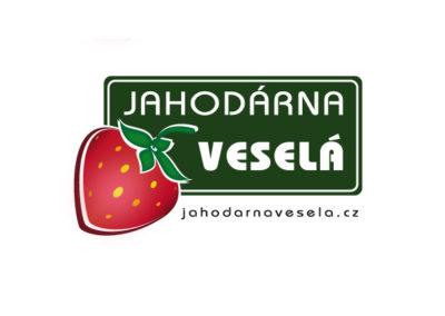 Jahodárna Veselá Logo