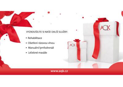 dárkový poukaz AQK
